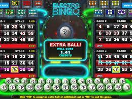 Gioco electro bingo demo