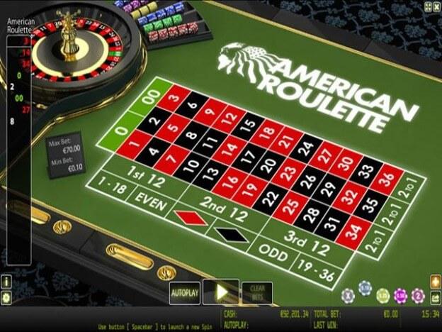 Gioco Roulette Americana demo