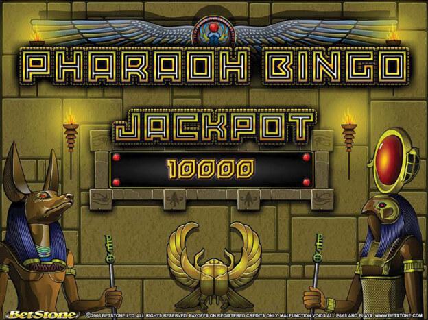 Pharaoh bingo gratuito demo