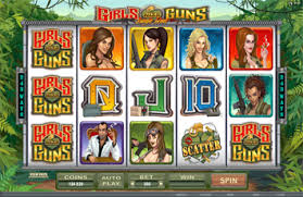 Girl with Guns slot machine