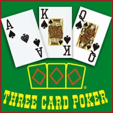 Gioco 3 card poker demo